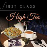 FIRST CLASS High Tea Set' title='FIRST CLASS High Tea Set
