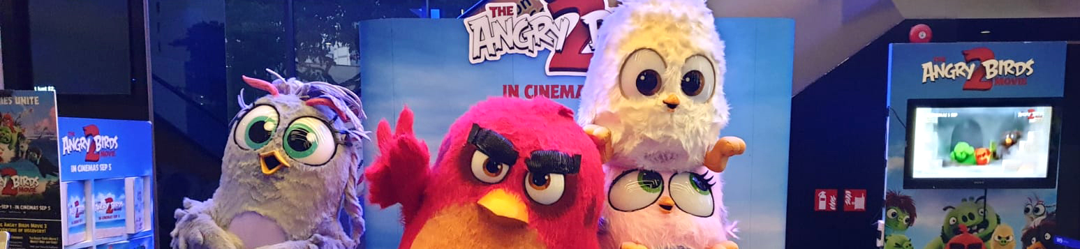 The Angry Birds 2 Meet and Greet