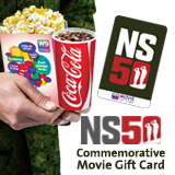 NS50 Commemorative Movie Gift Card' title='NS50 Commemorative Movie Gift Card