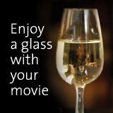Enjoy a glass with your movie