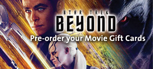 Pre-order your Star Trek Beyond Movie Gift Card today!
