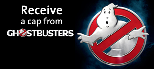 Receive GhostBusters Cap