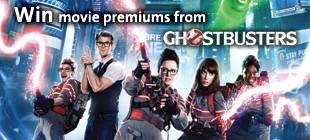 Win Movie Premiums from Ghostbusters