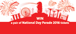 WIN a pair of  National Day Parade 2016 tickets