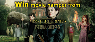 Win Movie Hamper from MISS PEREGRINE'S HOME FOR PECULIAR CHILDREN