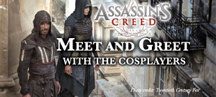 Assassin's Creed Meet & Greet with the Cosplayers