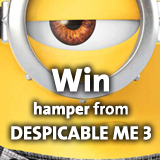 Win hamper from DESPICABLE ME 3