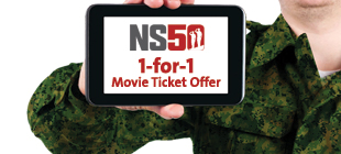 NS50 1-For-1 Movie Ticket Offer