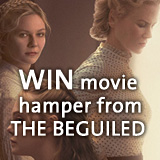 Win hamper from THE BEGUILED