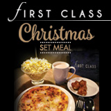 FIRST CLASS Christmas Set