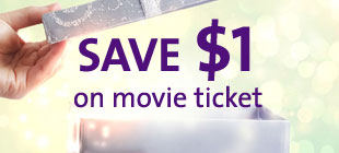 Save $1 on your Movie Tickets