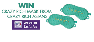Win A Pair of Crazy Rich Asians Eye Mask