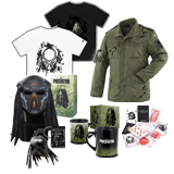Win movie premiums from THE PREDATOR