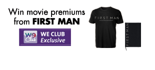 Win movie premiums from FIRST MAN