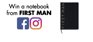 Win a notebook from FIRST MAN