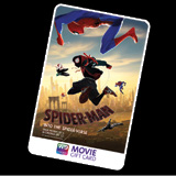 PURCHASE NOW SPIDERMAN - INTO THE SPIDER-VERSE MOVIE GIFT CARDS