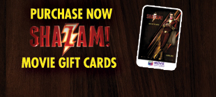 Purchase your SHAZAM Movie Gift Cards