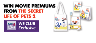 Win movie premiums from THE SECRET LIFE OF PETS 2