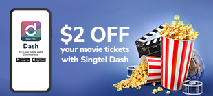 $2 OFF movie tickets at WE Cinemas