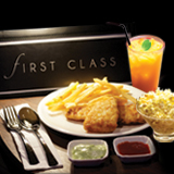 FIRST CLASS Prosperity Fish & Chips Set Meal